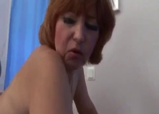 Banging my stepmom in the doggy style pose