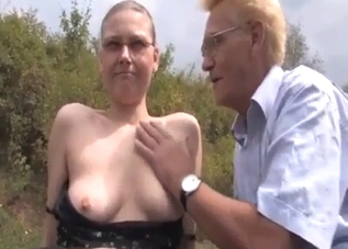 Old man fucked his old sister on cam