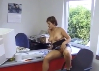 Busty auntie opens her crack for me