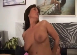 Busty mother really loves her horny son