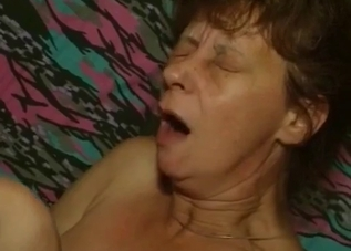 Filthy-minded mother fucked by nasty son