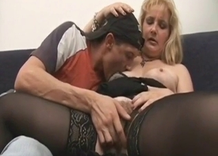 Dirty mother and her perverted son fucker