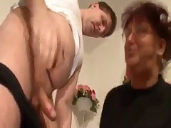 Fat busty mom and her nasty son