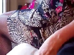 Mother jerks and blows me in POV mode