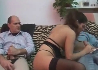 Daddy seduced and fucked his daughter