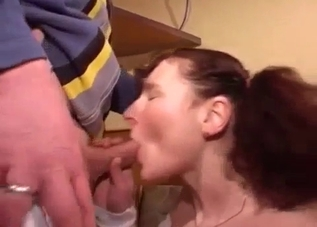 Stunning sex in missionary pose with sis