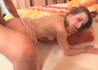 Slim sis knows how to perform a blowjob