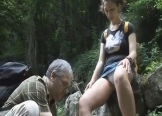 Busty daughter fucked by her daddy