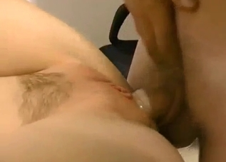 Golden blonde babe enjoys dirty sex
