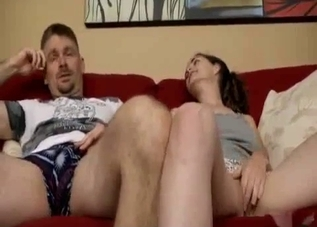 Brother and sister are enjoying incest sex