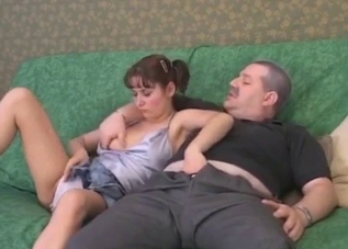 Filthy daddy and his perverted daughter
